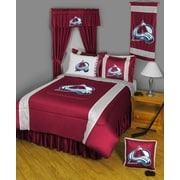 Sports Coverage NHL Colorado Avalanche Sidelines Comforter; Full / Queen