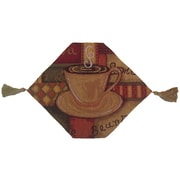 DaDa Bedding Smell of Coffee Woven Table Runner