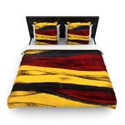KESS InHouse ''Sheets'' Woven Comforter Duvet Cover; Full/Queen