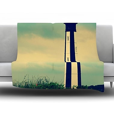 KESS InHouse New Cape Henry by Robin Dickinson Fleece Throw Blanket; 40'' H x 30'' W x 1'' D