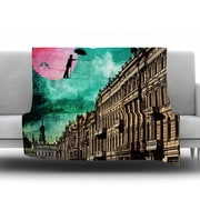 KESS InHouse Moonlight Stroll by Suzanne Carter Fleece Throw Blanket; 80'' H x 60'' W x 1'' D
