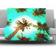 KESS InHouse Paradise by Oriana Cordero Fleece Throw Blanket; 60'' H x 50'' W x 1'' D