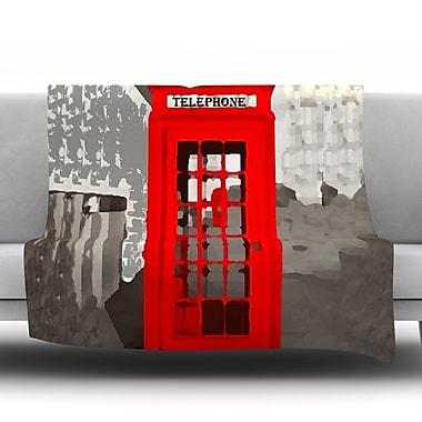 KESS InHouse London by Oriana Cordero Fleece Throw Blanket; 60'' H x 50'' W x 1'' D