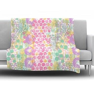 KESS InHouse Impression by Chickaprint Fleece Throw Blanket; 60'' H x 50'' W x 1'' D