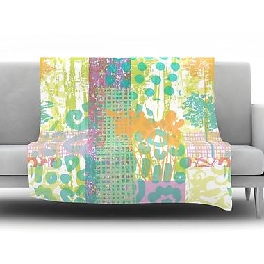 KESS InHouse Dazed by Chickaprint Fleece Throw Blanket; 60'' H x 50'' W x 1'' D