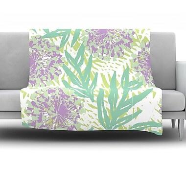 KESS InHouse Varen by Chickaprint Fleece Throw Blanket; 40'' H x 30'' W x 1'' D