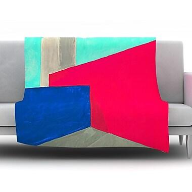 KESS InHouse Corner by Oriana Cordero Fleece Throw Blanket; 40'' H x 30'' W x 1'' D