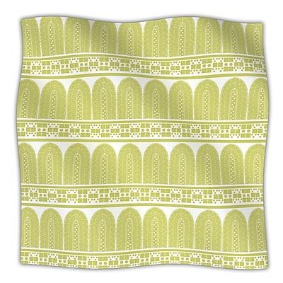 KESS InHouse Tribal Nandita Singh Fleece Throw Blanket; 80'' H x 60'' W x .25'' D