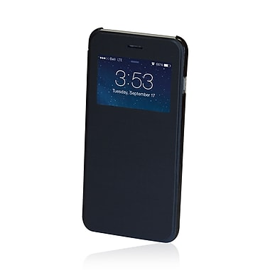 Gel Grip Iphone 6 Plus Flip Cases with Viewing Window