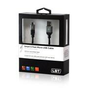 LBT – Câble Micro USB avec ampoule DEL intelligente