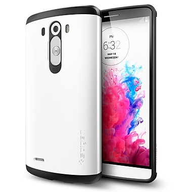 Spigen Slim Armor Case for Lg G3, Shimmery White
