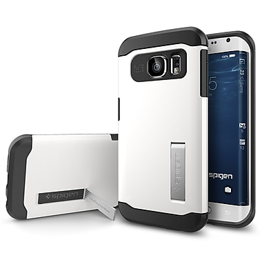 Spigen Slim Armor Case for Samsung Galaxy S6 Edge, Shimmery White