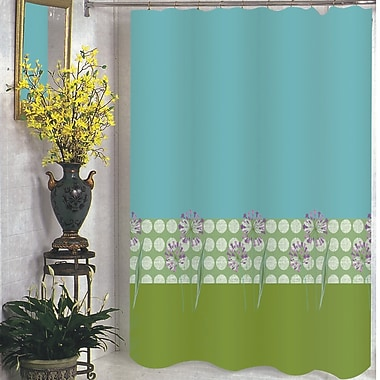 Carnation Home Fashions Serenity Shower Curtain