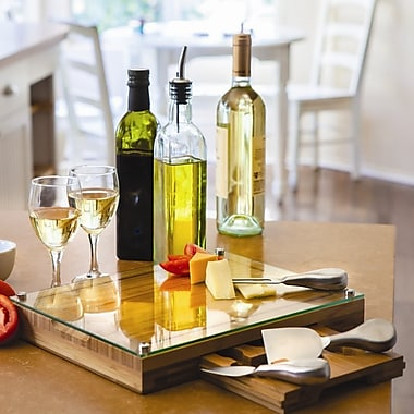 Picnic Time Concerto Cutting Cheese Tray