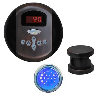 Steam Spa SteamSpa Indulgence Control Kit in Oil Rubbed Bronze