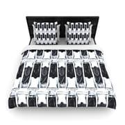 KESS InHouse ''Paint Tubes'' Woven Comforter Duvet Cover; Full/Queen