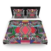KESS InHouse ''African Motif'' Woven Comforter Duvet Cover; Twin
