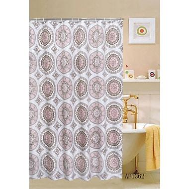 Kashi Home Eclipse Shower Curtain