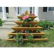 InfiniteCedar 4 ft x 4 ft Cedar Vertical Garden