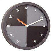 Bai Design Quadro Modern Wall Clock; Numbers