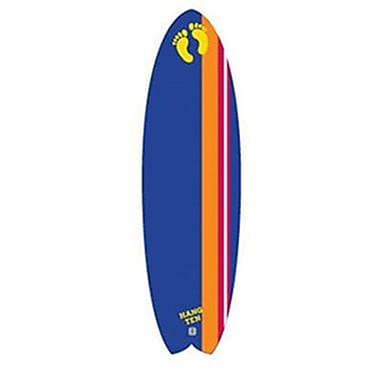 Hang Ten 6' Soft Top Surfboard, Flying Fish, Dark Blue