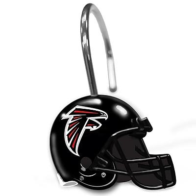 Northwest Co. NFL Helmet Shower Curtain Rings;