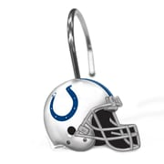 Northwest Co. NFL Helmet Shower Curtain Rings; Indianapolis Colts