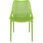 Siesta Exclusive Armless Stacking Chair; Tropical Green