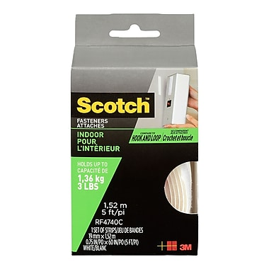 Scotch™ Indoor Fasteners, 3/4