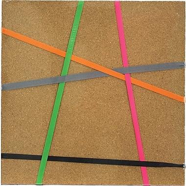 Quartet® - Tuile de liège avec élastiques, 12 po x 12 po