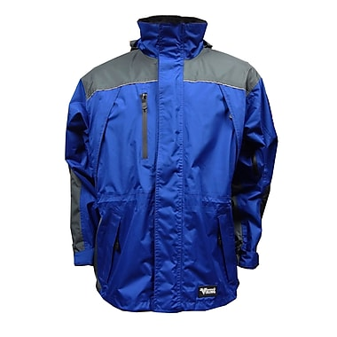 Viking Tempest Classic Jacket, Large, Charcoal/Royal blue