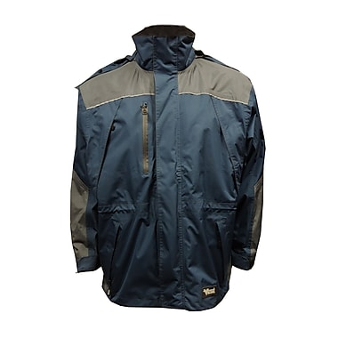 Viking Tempest Classic Jacket, 4XL, Charcoal/Navy