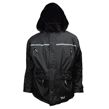 Tempest Trizone 3 in 1 Jacket, 2XL, Solid Black