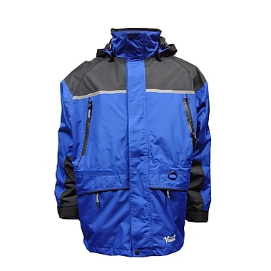 Tempest Trizone 3-in-1 Jacket, Large, Black/Royal Blue