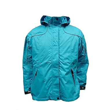 Ladies Creekside Tri-Zone Jacket, Large, Pacific Blue