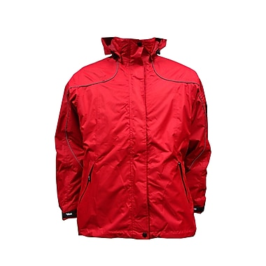 Ladies Creekside Tri-Zone Jacket, XL, Red