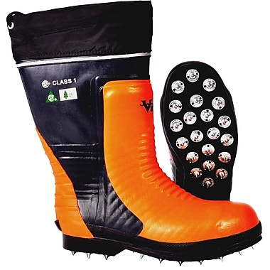 Bushwhacker Caulked Sole Chainsaw Boot, Size 12