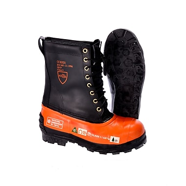 Black Tusk Lug Sole Boot, Size 8