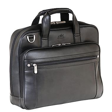 Mancini - Mallette d'affaires pour portatif de 15,6 po + tablette, noir