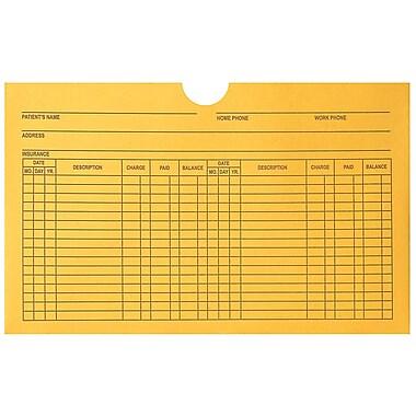 Medical Arts Press® Filing Envelopes, 5 x 8 inch, Printed, 250/Box