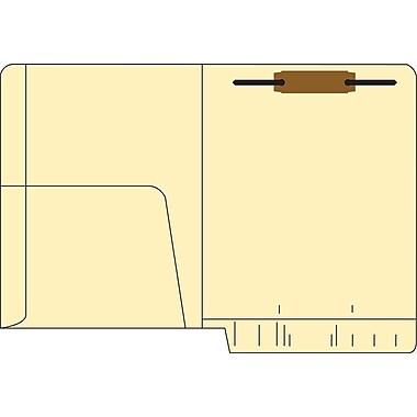 Medical Arts Press® 14 Pt. Manila End-Tab Pocket Folders; 1 Fastener