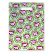 "Medical Arts Press® Dental Scatter Print Bags; 7-1/2x10"", Heart/Smile"