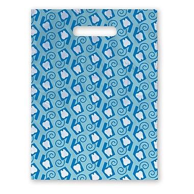 Medical Arts Press® Dental Scatter Print Bags; 7-1/2x10