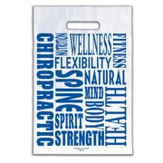 "Medical Arts Press® Chiropractic Non-Personalized 1-Color Supply Bags; 9x13"", Word Design"