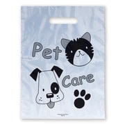 "Medical Arts Press® Veterinary Non-Personalized 1-Color Supply Bags; 9x13"", Pet Care, Dog & Cat Face"