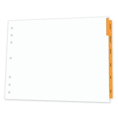 Appointment Book Planner Dividers; 14x11
