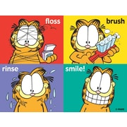 Garfield Assorted Laser Postcards, Floss, Rinse