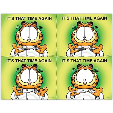 Garfield Laser Postcards, Time Again