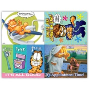 Garfield Assorted Laser Postcards, Dental