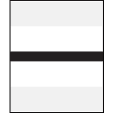 Medical Arts Press® Write-On or Type-On Divider Tabs; Black